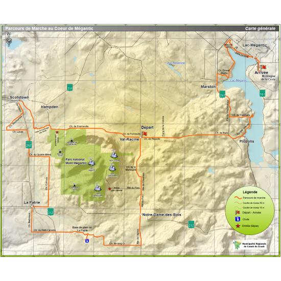 Planification de parcours et réservation d'hébergement