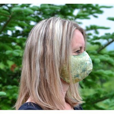 Masque artisanal feuille